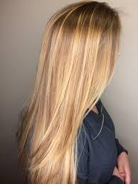 Light Blonde Balayage Honey Blonde Golden Blonde Long Hair Balayage Balayage