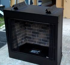 Vent Free Lp Gas Fireplace by Paint The Brick Inner Liner Of A Fireplace U2014 Gas Grills Parts