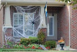 Halloween Outside Decorations Halloween Spider Web Decorations Halloween Decorating Tips