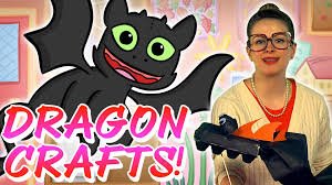 how to make your dragon crafts for kids at cool youtube