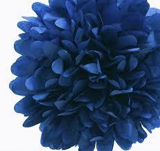 royal blue tissue paper navy blue tissue paper pom poms tissue paper pom poms
