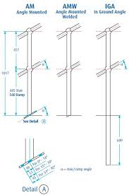 What Is Standard Handrail Height Handrail U0026 Stanchion Components