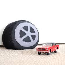 diy car wheel doorstop or cushion the thud