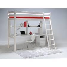 lit bureau mezzanine lit mezzanine sommier bureau city 90 x190 cm pas cher à prix