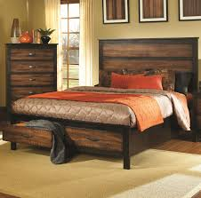 Modern Wood Queen Bed Bedroom Diy Solid Wood Flat California King Platform Bed Frame