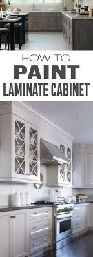 Painted Laminate Kitchen Cabinets Painting Laminate Cabinets Painted Furniture Ideas