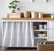 meubles cuisine ind endants meuble ã rideau cuisine idées de design maison faciles