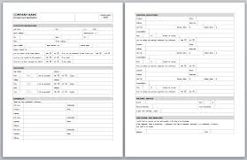 employment applications free employment applications to print