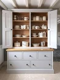 kitchen dresser ideas dresser with drawers and cupboards painted housekeepers
