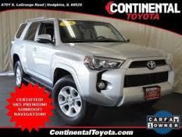 continental toyota used cars used toyota 4runner for sale in schererville in cars com