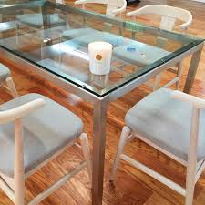 Glass Top Dining Table And Chairs Modern Dining Sets Mix And Match To Fit Your Style