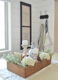how to style a vintage crate easy farmhouse style decor idea