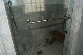 Towel Bar For Glass Shower Door Fancy Shower Door Towel Bar Adeltmechanical Door Ideas Shower
