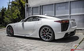 lexus supercar hybrid for sale pearl white lexus lfa via cec wheels gtspirit