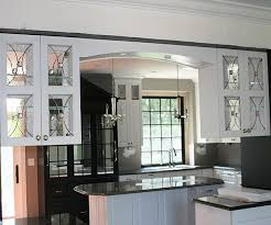 Glass Cabinet InsertsImage Of Sweet Glass Cabinet Doors Here Is - Leaded glass kitchen cabinets
