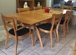 mid century modern dining room table provisionsdining co