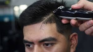 soccer haircut steps mid skin fade tutorial comb over side part by vick the