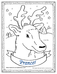 prancer the reindeer
