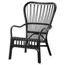 storsele armchair black rattan armchairs rattan and porch