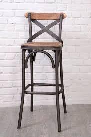 chaise bar attachant chaise de bar industriel loft tabouret vintage beraue