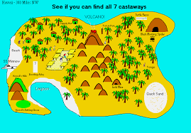 map of island maps of gilligan s island