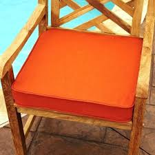 Square Bistro Chair Cushions Square Chair Cushions Cotton Cover Square Memory Foam Floor Seat