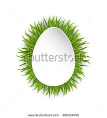 green paper easter grass easter eggs grass stock images royalty free images vectors
