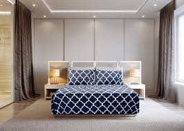 amazon com 4 piece bed sheets set queen blue flat sheet