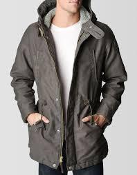 sherpa lined mens parka jacket crs imports