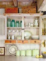 top of the kitchen cabinet decor ideas for decorating above kitchen cabinets better homes