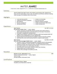 Resume Samples For Professionals by Resume Maintenance Foreman Resume Cover Letter For
