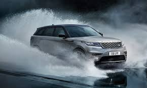 silver range rover range rover velar full launch event at london design museum