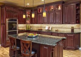 kitchen color ideas with cherry cabinets kitchen ideas with cherry wood cabinets endearing 10