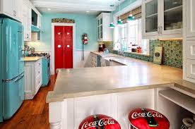themed kitchen coca cola decor vintage posters coke machines and diy ideas