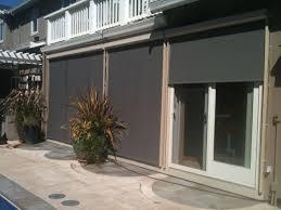 Solar Shades For Patio Doors Insolroll Oasis 2700 Patio Exterior Window Solar Screen Shades