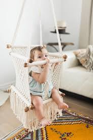 macrame hammock baby swing chair handmade in nicaragua adelisa u0026 co