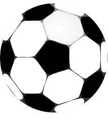 football futbolo soccer ball black white line art coloring book