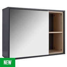 Grey Bathroom Wall Cabinet Bathroom Cabinets Argos