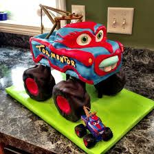 mater monster truck videos tormentor monster truck mater cake cakecentral com