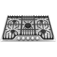 30 Stainless Steel Gas Cooktop Frigidaire Professional 30