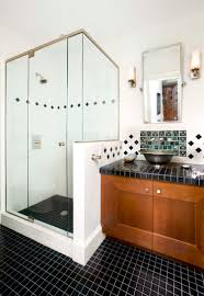 drexler shower door blog part 2 frameless enclosure with half wall