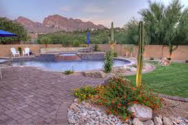 tucson landscape ideas tucson pool ideas valley oasis pools u0026 spas