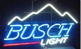 busch light neon sign busch light neon beer signs dhgate uk