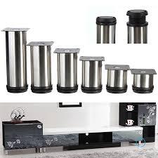 kitchen base cabinet adjustable legs 4pcs set cabinet metal legs adjustable stainless steel home