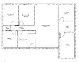 plan de maison plein pied gratuit 3 chambres plan maison une chambre commander a plan etage maison contemporaine