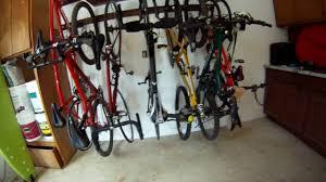 space saving garage bike storage youtube space saving garage bike storage