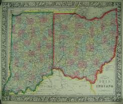 State Of Ohio Map by The Usgenweb Archives Digital Map Library Ohio State Maps