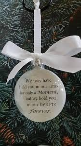 infant loss christmas ornaments personalized photo memorial christmas ornaments s44design