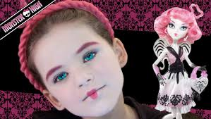 Monster High Halloween Costumes Party City C A Cupid Monster High Doll Costume Makeup Tutorial Youtube