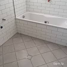 lilyfield life subway tiles bathroom renovation progress